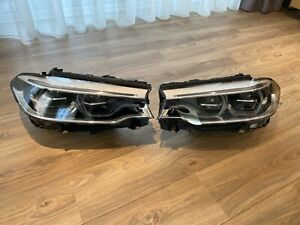 2017 2018 2019 BMW G30 F90 530i 540i 530E M5 Full LED Headlights Oem