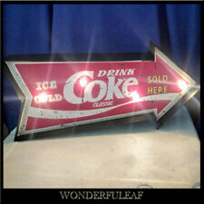 COKE Sign Beer Bar Pub Restaurant Decor Poster Metal Marquee Retro Sign Light