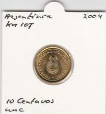 Argentina 10 centavos 2004 UNC - KM107 (mh082)