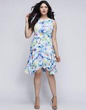 Size 22 Julia Jordan Lane Bryant Floral Trapeze Dress NWT $158 Cocktail 22W 2X