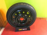 """NEW 2012-2015 KIA OPTIMA SPARE TIRE KIT FOR 16/"""" AND 17/""""  WHEELS 4CF40 AC950"""