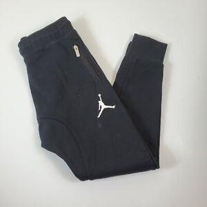 Nike Air Jordan Boys Joggers Sweatpants Large 12-13 years Black