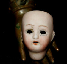 "Antique Bisque dollhouse doll head 1 3/4""  -  45 mm"