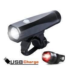 Bike Lights USB Rechargeable Cree LED Headlight Cycling Bicycle Headlamp 1000LM