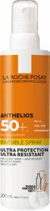 La Roche-Posay Anthelios Invisible Spray  200 ml, PZN 16122159