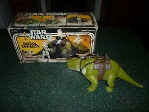 Star Wars Vintage Patrol Dewback in the Original Box!