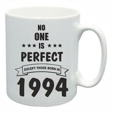 24th Novelty Birthday Gift Present Tea Mug No One Is Perfect 1994 Coffee Cup