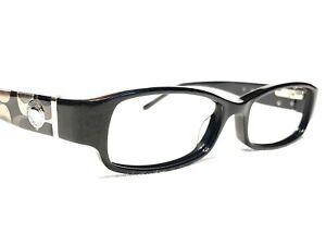 Coach Bernice 844 Women's Black Modern Rx Designer Eyeglasses Frames 49/15~130