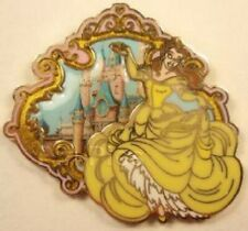 Disney Beauty & the Beast Belle with Castle pin