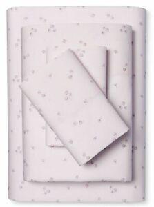 New Rachel Ashwell Simply Shabby Chic PINK DITSY ROSE CALIFORNIA KING Sheet Set
