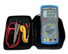 Profi Digital Multimeter 20A HoldPeak HP-770B NCV LED Kapazität hFe °C OHM A V