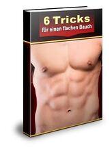 6 trucchi per una pancia piatta-ebook (PDF & Word) - PLR/RESELLER-licenza