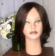 "High Quality Wig/ Sheitel/ 100% European Human Hair Blend/ Color 4 /10""in"