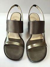 Etienne Aigner Celine Strap Leather Sandals Women's Size 7.5 M