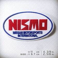 NISMO EMBROIDERED PATCH IRON ON or SEW Nissan Daytona Motorsports Tokyo Japan