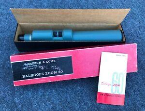 Vintage Bausch & Lomb Balscope Zoom 60 Spotting Scope