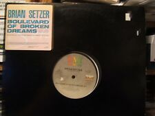 Brian Setzer Boulevard Of Broken Dreams 1 track Us Dj 12""