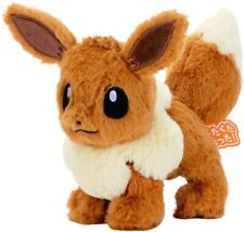 Pokemon Eevee kuta kuta tatta! Plush Stuffed Doll Toy S approx 6inches