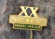 1967 WBP 20th XX International Bicycle Peace Bike Race Hradec Kralove Pin Badge
