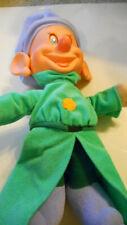 VTG 1993 Mattel Disney Snow White Seven Dwarves  Dopey Plush Doll Moveable Ears