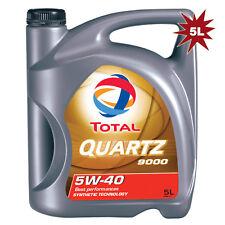 Total Quartz 9000 5W-40 Synthetic Technology Engine Oil 5 Litre