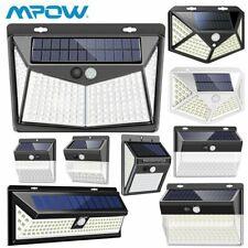Mpow Solarleuchte mit Bewegungsmelder LED Solarstrahler Außenleuchte Gartenlampe
