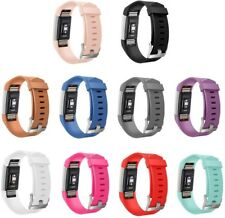 GinCoband 10PCS Replacement Bands for Fitbit Charge 2 Wristband with Metal Clasp