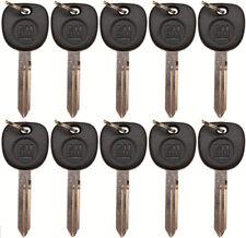 10 Genuine Strattec OEM GMC GM Logo Non-Transponder Key Blanks 15026223 23372321