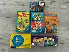 Diverse Spiele - Kinderspiele - Gesellschaftsspiele