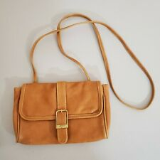 Vintage Capezio Small Faux Leather Crossbody Messenger Purse Made in Taiwan
