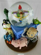 Disney Store VERY RARE Toy Story Musical Snowglobe Sid's Room Toys  PERFECT