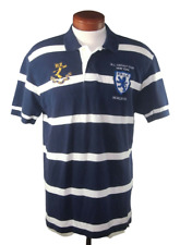 New listing Polo Ralph Lauren Men's RL Cricket Club Striped Polo Rugby Shirt Size L