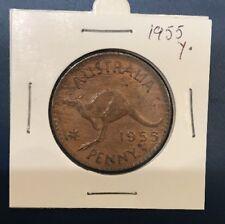 1955 Y. Australian Penny coin