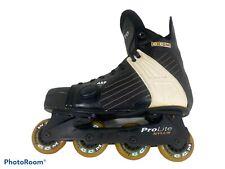 Ccm Ultra Pro Roller Hockey Skates In-line Rollerblades Arp Pro Lite Men's 10