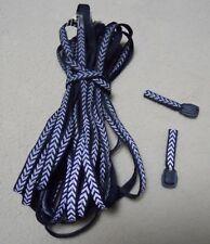 6 Yards Reflective Fabric Strip Sewing Edging Zipper Ribbon DIY Craft