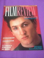 Vintage FILM REVIEW Magazine Dec 87 Spock Schwarzenegger Sherlock Holmes Heston