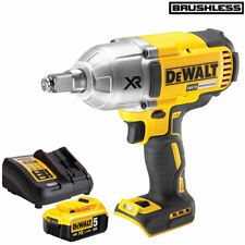 DeWalt DCF899HN 18V Brushless Impact Wrench with 1 x 5.0Ah Battery & Charger