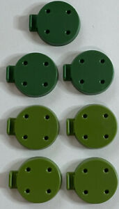Squad Bases Green (7) - Tide Of Iron Board Game Replacement Parts