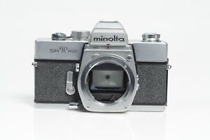 Minolta SRT 102 SLR Film Camera Body Chrome #734