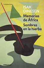 Memorias de África/Sombras en la hierba. ENVÍO URGENTE (ESPAÑA)