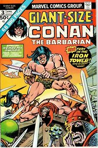 Giant-Size Conan the Barbarian Apr 1975 #3 Academy Award Issue!