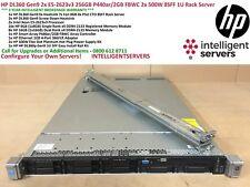 HP DL360 Gen9 2x E5-2623v3 256GB P440ar/2GB FBWC 2x 500W 8SFF 1U Rack Server