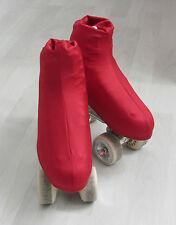 Stiefelschoner Overboot f Rollkunstlauf / Eiskunstlauf 32-35 dunkelrot