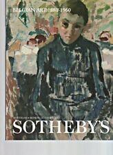 Sothebys 2000 Belgian Art: 1880 - 1960