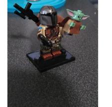 The Mandalorian and Baby Yoda Minifigures -Lego MOC