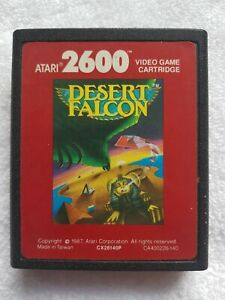 Atari 2600 Desert Falcon game cartridge only 1987 Tested working Excellent Cond