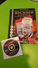 Sony PlayStation PSX Xploder manual & CD officielles nuevo embalaje original códigos solución libro