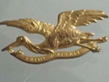 insigne militaire Cigogne Salut d'Alsace WWI original badge .