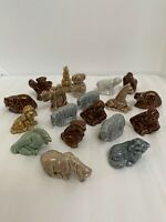 Wade England Lot of 19 Miscellaneous Whimsy Whimsies Figurines Vintage Animals