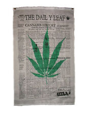 3x5 The Daily Leaf Marijuana Weed Blunt Premium Flag 3'x5' Banner Grommets